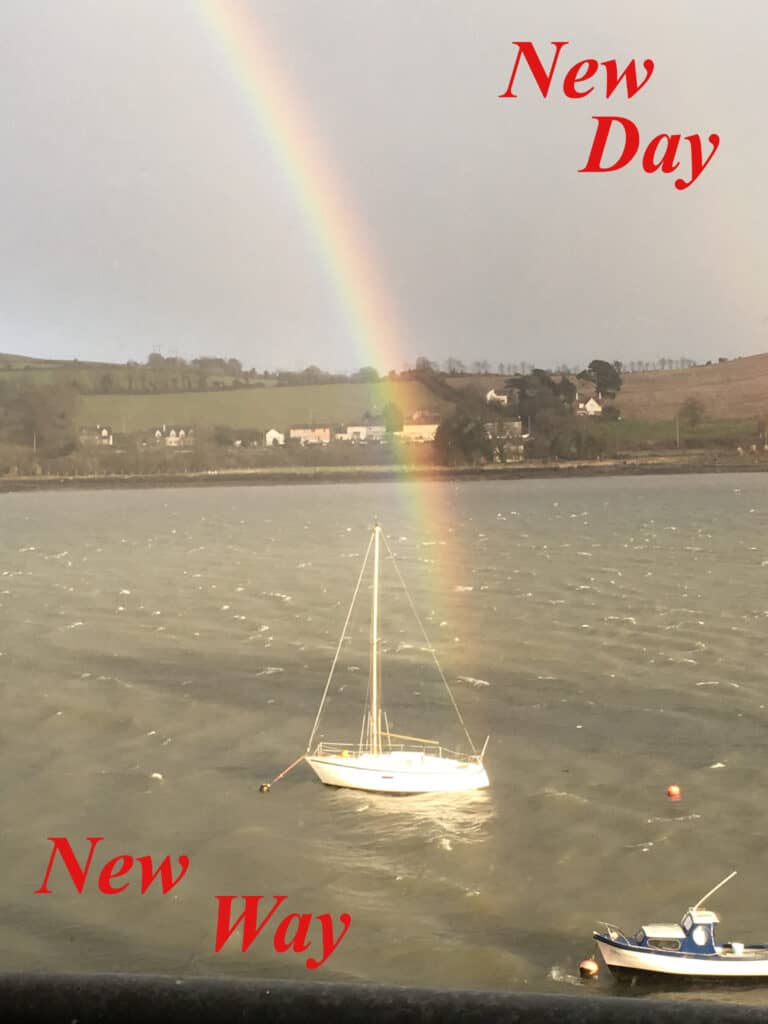 New Day, New Way by Nuala O Connor @retuningme