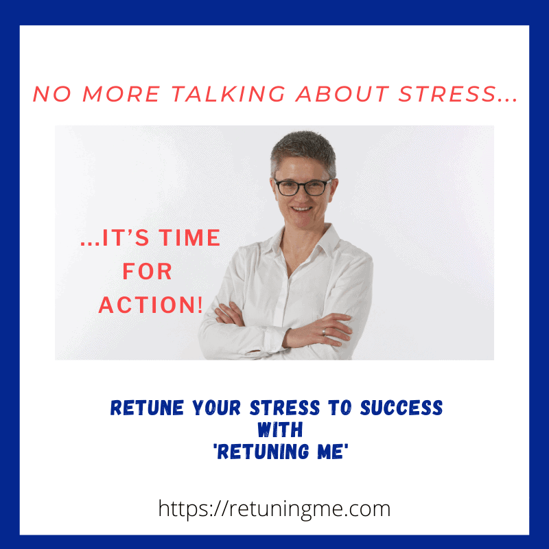 No more talking about stress 1