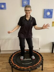 Rebound For Wellness Helps You Exercise When You Find Exercising Difficult  with Nuala O Connor @RetuningMe