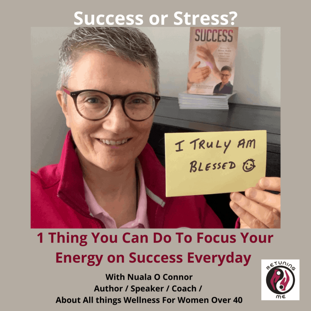 1 Thing You can Do To Focus Your Energy on Success Everyday