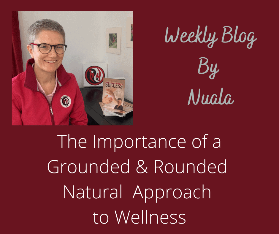 The Importance of a Grounded and Rounded Approach to Wellness when stressed