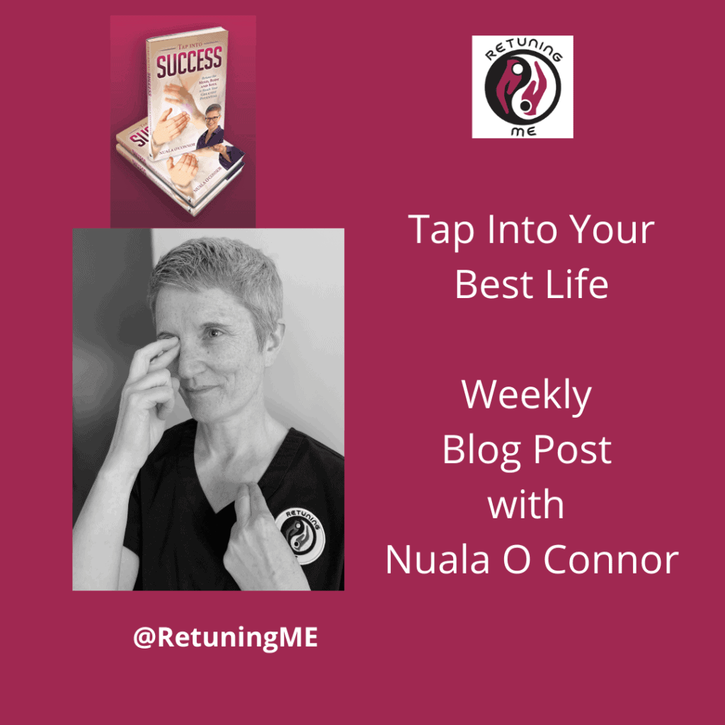 Tapping Calms Anger, Resentment, and all stress with Nuala O Connor @RetuningME