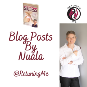 Weekly Blog Post On My Morning Menopause Routine by Nuala @RetuningME